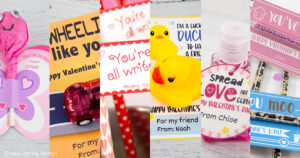 creative kids valentines cards for school for friends valentine's day printables free Press Print Party!