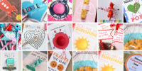 35 Easy Non Candy Valentine's Day Free Printables - for kids for classmates - lip balms, pencils, fruits, toys,Homemade DIY creative gifts - By Press Print Party!