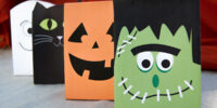 4 Free Halloween Treat Bags Printables