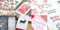 200+ FREE Christmas Gift Tags Printables